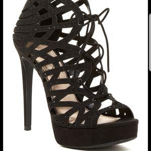 JESSICA SIMPSON Akana stiletto caged dress sandal